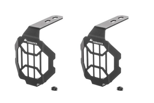 Touratech Black LED NANO Headlight Protector For BMW 1