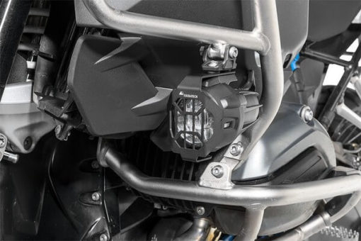 Touratech Black LED NANO Headlight Protector For BMW 2