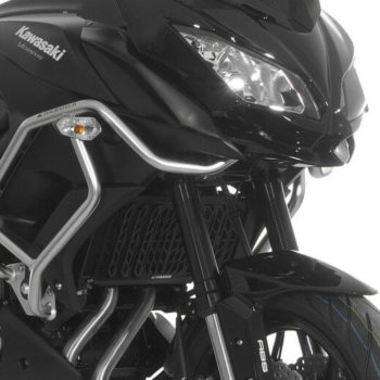 Touratech Black Radiator Guard For Kawasaki Versys 650 2