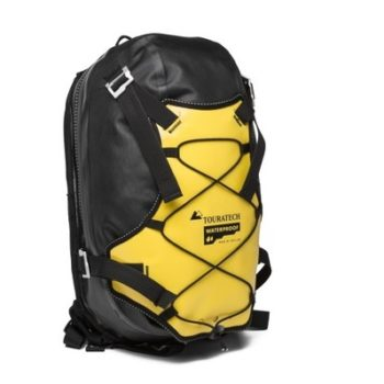 Touratech COR13 Black Yellow Waterproof Backpack 1