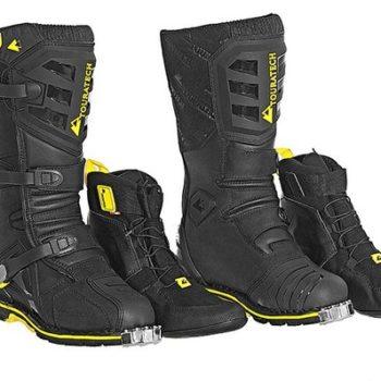 Touratech Destino Adventure Black Riding Boots 1