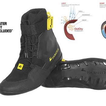 Touratech Destino Adventure Black Riding Boots 2