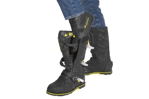 Touratech Destino Adventure Black Riding Boots 3