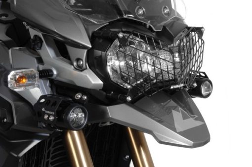 Touratech Headlight Protector With Quick Release For Triumph Tiger 800 XC XCx and Tiger Explorer