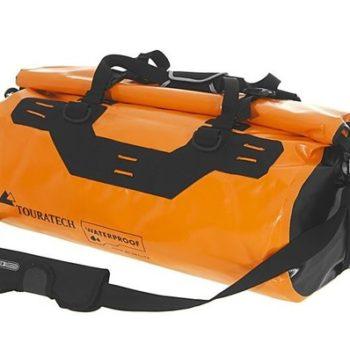 Touratech Orange Black Dry Bag Adventure Rack Pack Luggage Bag 1
