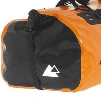 Touratech Orange Black Dry Bag Adventure Rack Pack Luggage Bag 2