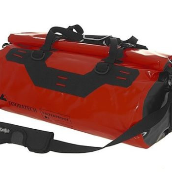 Touratech Red Black Dry Bag Adventure Rack Pack Luggage Bag 1