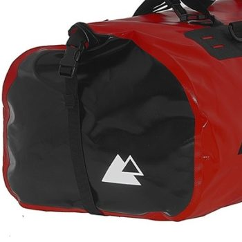 Touratech Red Black Dry Bag Adventure Rack Pack Luggage Bag 2