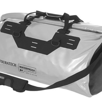 Touratech Silver Black Dry Bag Adventure Rack Pack Luggage Bag