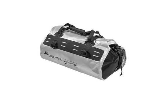 Touratech Silver Black Dry Bag Rack Pack Luggage Bag 1
