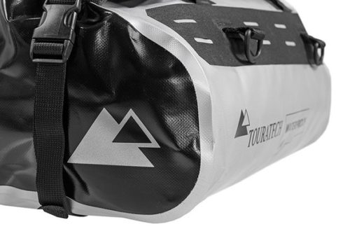 Touratech Silver Black Dry Bag Rack Pack Luggage Bag 2