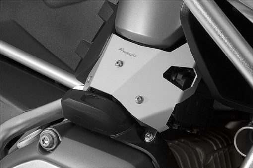 Touratech Silver Butterfly Valve Guard For BMW 2