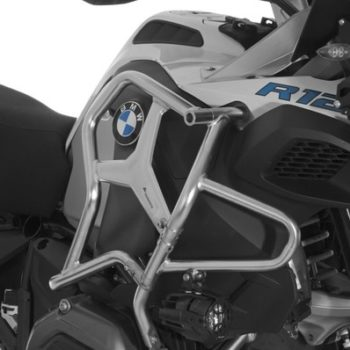 Touratech Silver Crash Bar Extension For BMW R1200 GS Adventure 2