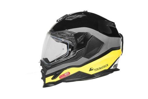 Touratech Yellow Aventuro Carbon 2 Companero Duel Sport Helmet 2