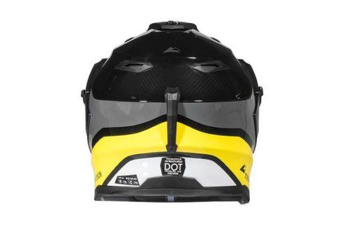 Touratech Yellow Aventuro Carbon 2 Companero Duel Sport Helmet 32