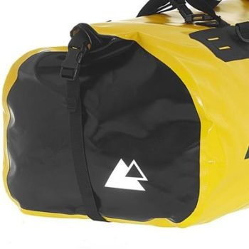 Touratech Yellow Black Dry Bag Adventure Rack Pack Luggage Bag 2