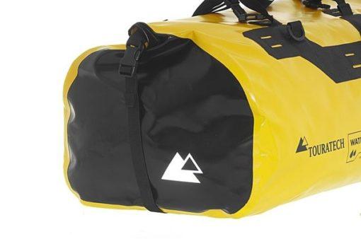 Touratech Yellow Black Dry Bag Adventure Rack Pack Luggage Bag 2