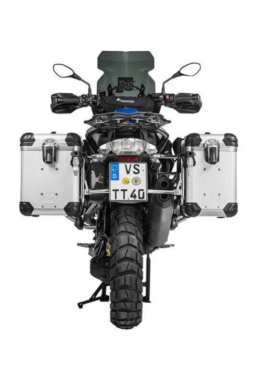 Touratech ZEGA Complete Silver Pannier Set For BMW R1250 GS Adventure R1200 GS Adventure 3