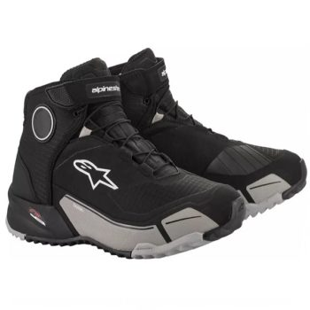 Alpinestars CR X Drystar Black Gray Riding Shoes