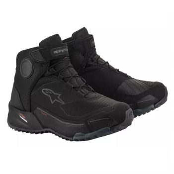 Alpinestars CR X Drystar Black Riding Shoe