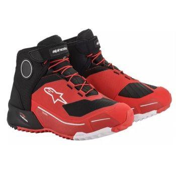 Alpinestars CR X Drystar Red Black Riding Shoes