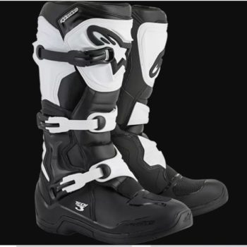 Alpinestars Tech 3 Black White Boots
