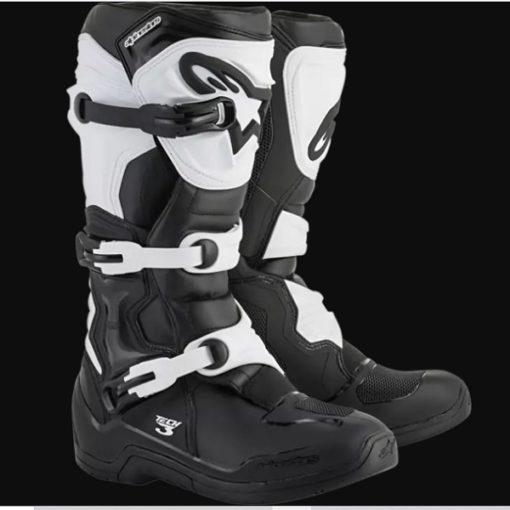 Alpinestars Tech 3 Black White Boots