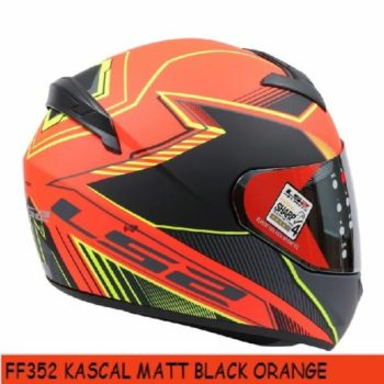 LS2 FF352 Kascal Matt Black Orange Full Face Helmet