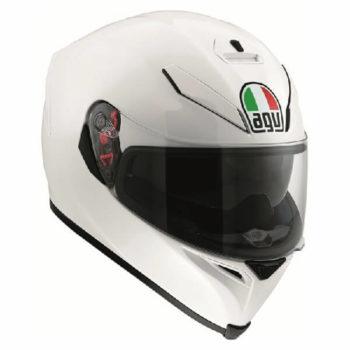 AGV K5 S Solid Gloss White Full Face Helmet