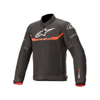 Alpinestars T SPS Air Black Fluorescent Red Riding Jacket 1