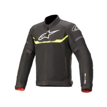 Alpinestars T SPS Air Black Fluorescent Yellow Riding Jacket