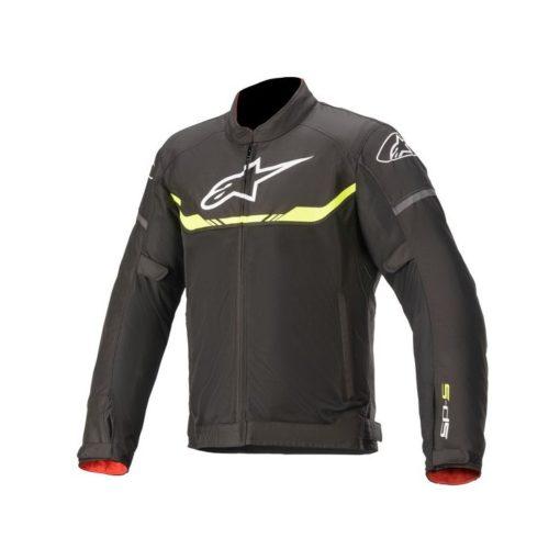 Alpinestars T SPS Air Black Fluorescent Yellow Riding Jacket