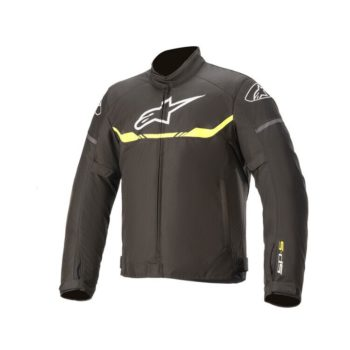 Alpinestars T SPS Waterproof Black Fluorescent Yellow Riding Jacket
