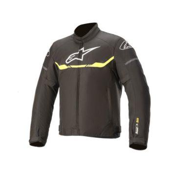 Alpinestars T SPS Waterproof Black Fluorescent Yellow Riding Jacket
