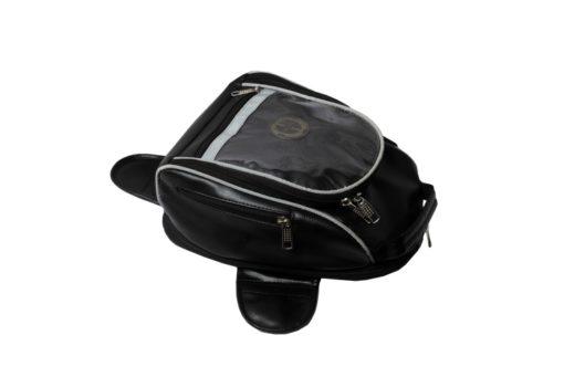 Tryka Gears Premium Leather Tank Bag15L 1