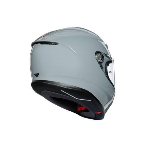 AGV K6 Gloss Nardo Grey Full Face Helmet 4