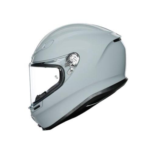 AGV K6 Gloss Nardo Grey Full Face Helmet 5