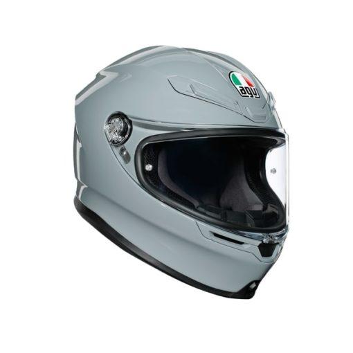 AGV K6 Gloss Nardo Grey Full Face Helmet