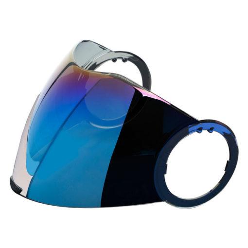 AGV Orbyt Fluid Iridium Blue Visor