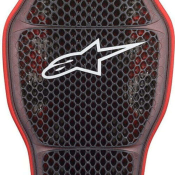 Alpinestars Nucleon KR 1 CELLi Black Red Back Protector 1
