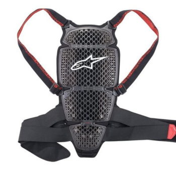 Alpinestars Nucleon KR CELL Smoke Black Red Back Protector