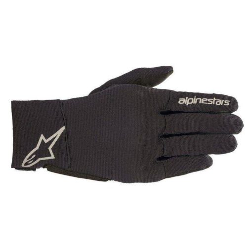 Alpinestars Reef Black Reflective Riding Gloves