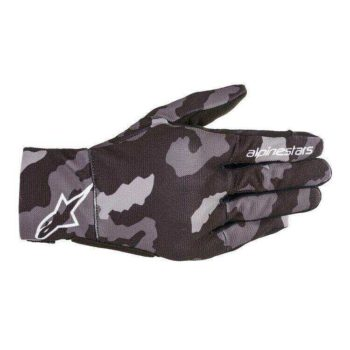 Alpinestars Reef Camo Balck Grey Riding Gloves