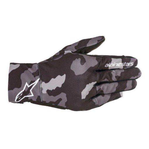 Alpinestars Reef Camo Balck Grey Riding Gloves