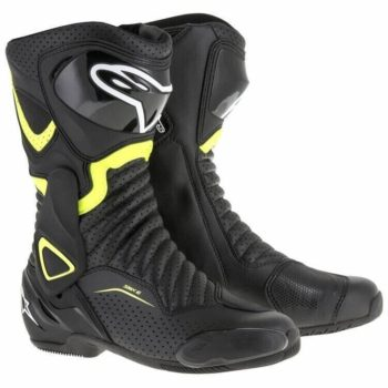 Alpinestars SMX 6 V2 Black Fluorescent Yellow Boots