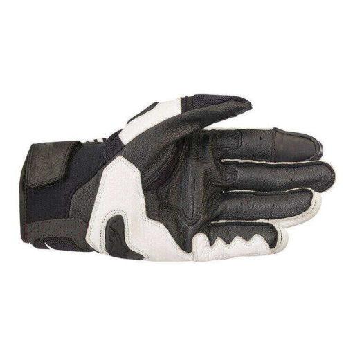 Alpinestars SP X Air Carbon V2 Black White Riding Gloves 2