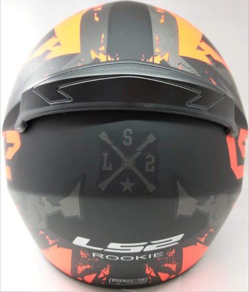 LS2 FF352 Palimenesis Matt Black Orange Full Face Helmet 1