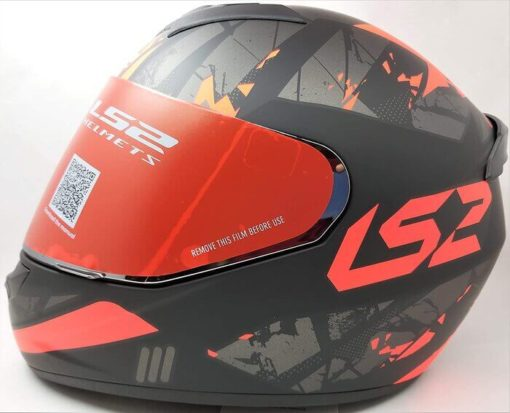 LS2 FF352 Palimenesis Matt Black Orange Full Face Helmet