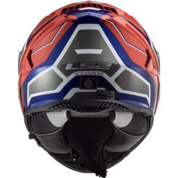 LS2 FF800 Storm Faster Gloss Blue Red Full Face Helmet 1