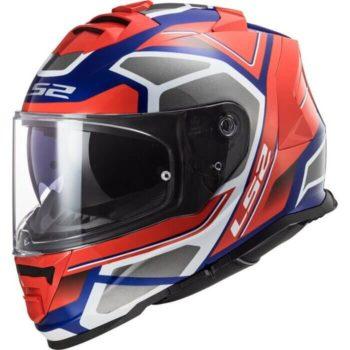 LS2 FF800 Storm Faster Gloss Blue Red Full Face Helmet